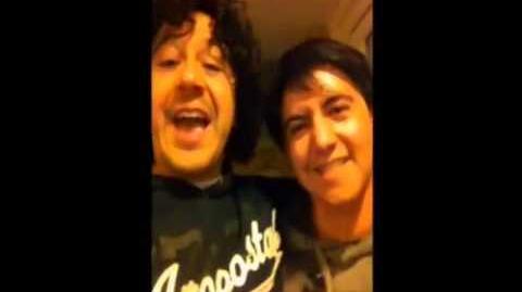 Moisés Ivan Mora y Arturo Cataño (Mordecai y Rigby)