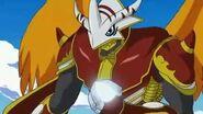 BurningGreymon derrota a Gigasmon y recupera el digispirits de kumamon - Latino