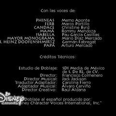 Créditos del doblaje de la primera temporada