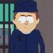 Policia en la carcel SP