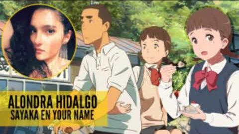 Entrevista a Alondra Hidalgo sobre el doblaje de Your Name