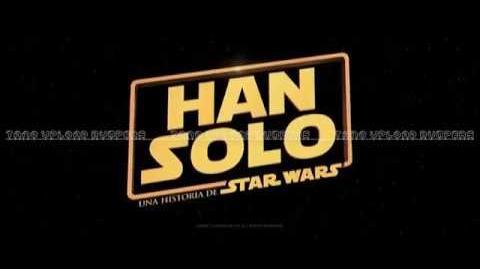 Han Solo Una historia de Star Wars - Primer adelanto - Español Latino