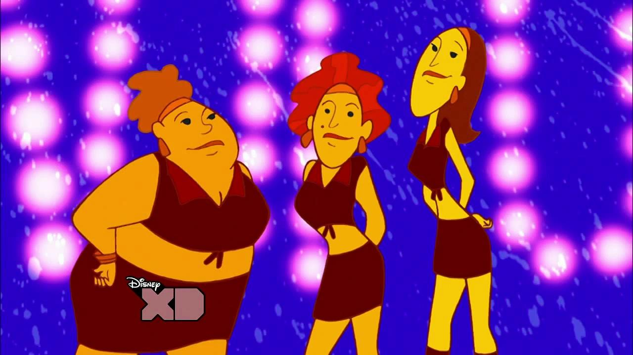 Kim Possible - The Naked Mole Rap CLIP en ESPAÑOL LATINO HD-RIP