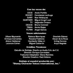 Créditos del Doblaje de la 2da Temporada
