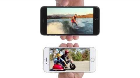 Comercial iPhone 6 en Chile, cámara