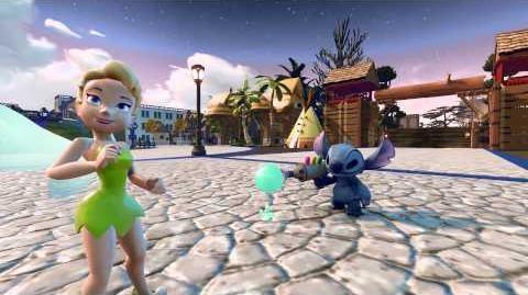 Disney Infinity Tinkerbell y Stitch