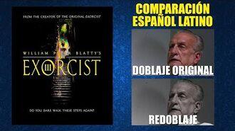 El Exorcista III -1990- Doblaje Original y Redoblaje - Español Latino - Comparación y Muestra