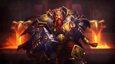 Nuevo Héroe de Hearthstone Magni Barbabronce