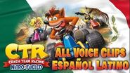All Voice Clips Mexican Español Latino - Crash Team Racing Nitro-Fueled - Funny-2