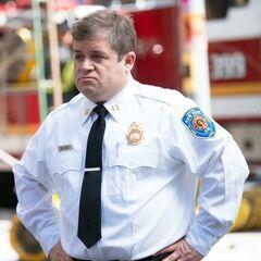 Jefe de bomberos Boone en <a href=