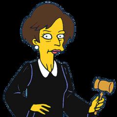 Jueza Constance Harm y también en <a href=