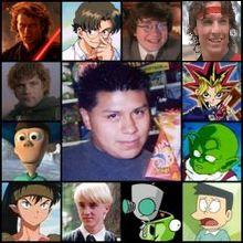 Irwin Daayán y sus personajes 2.0