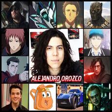 Alejandro Orozco - Doblaje77