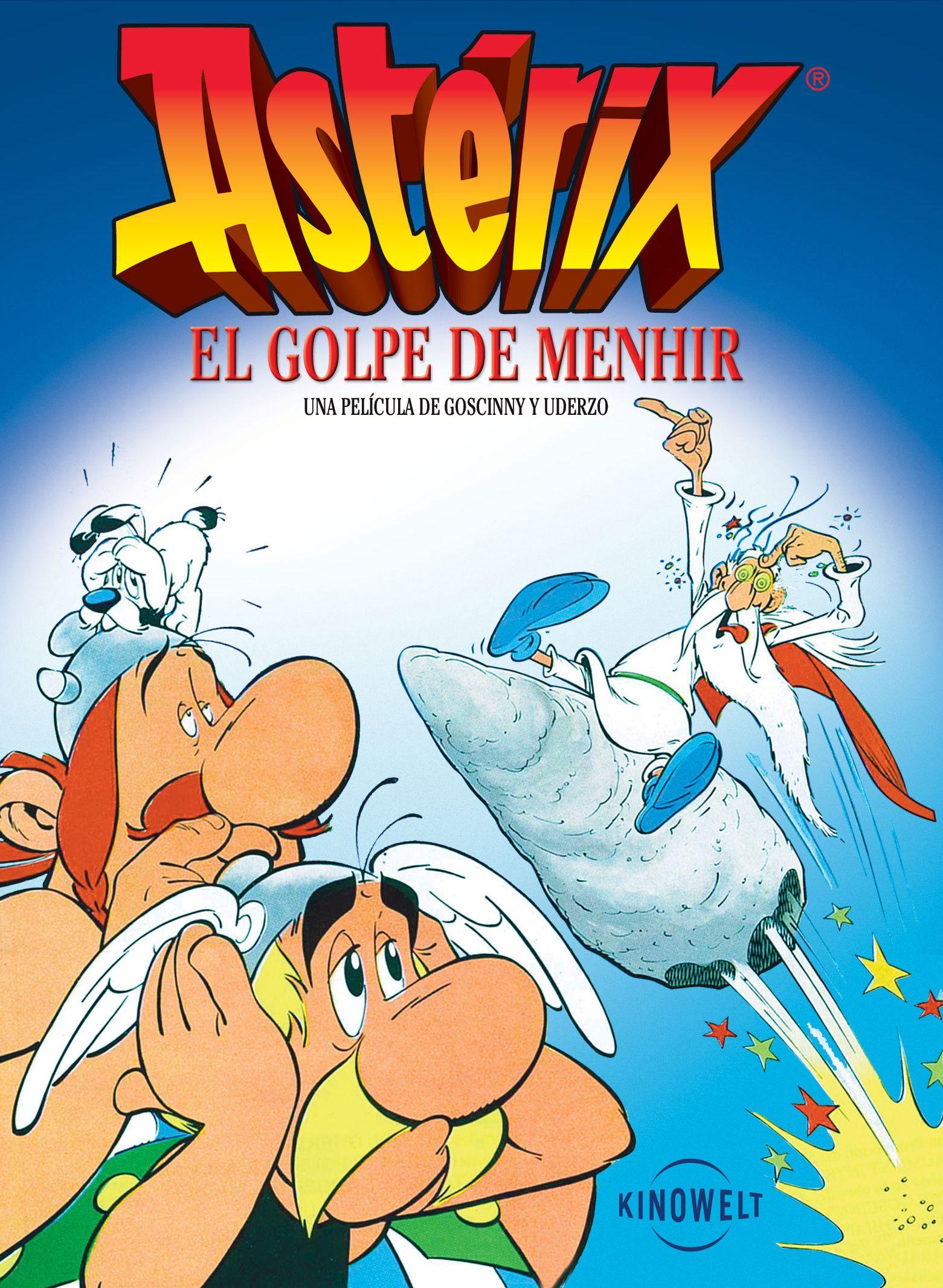Resultado de imagen de asterix y obelix panoramix menhir
