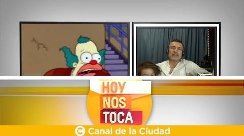 Conocemos a Sebastián Llapur, la voz en español de Krusty en Hoy nos toca