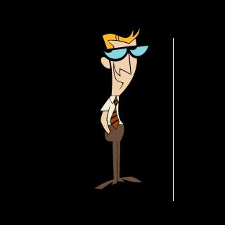 Padre de Dexter (voz cantada) en <a href=