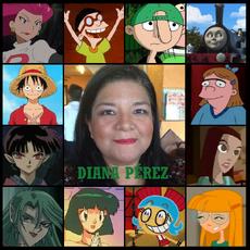 Homenaje de Diana Pérez