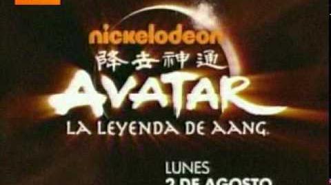 Promo Avatar, la leyenda de Aang - Lunes 2 de agosto