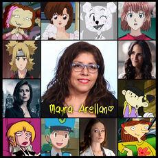 Mayra Arellano.Doblaje
