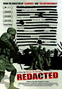Redacted 2007 portada