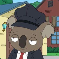 Reginald el Koala en <a href=
