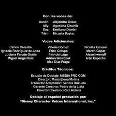 Créditos del Doblaje Disney Channel HD Latinoamérica