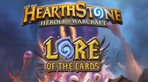 Hearthstone Historia de las Cartas C'Thun