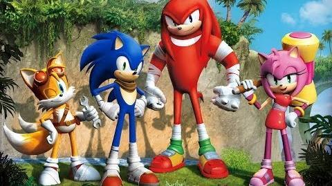 Sonic Boom Serie de TV (Trailer)