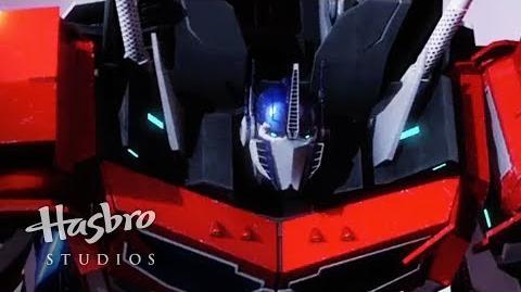 Transformers Prime Cazadores de Bestias - Mordida de Optimus Prime