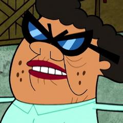 Tanya, la abuela de Irwin en su primera aparición en <a href=