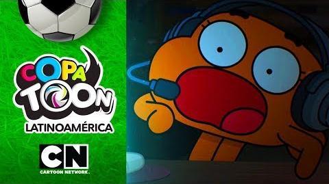 ¿Qué es lo que dicen los jugadores durante el partido? Copa Toon Cartoon Network