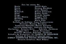 Creditos Sonic y su Banda