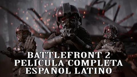 STAR WARS BATTLEFRONT 2 PELÍCULA ESPAÑOL LATINO