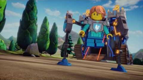 EL VALIENTE Y ATREVIDO (Y PEQUEÑO) SIR ROBIN - LEGO Nexo Knights - Webisode -8