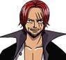 Shanks Close up