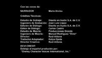 Créditos de doblaje de La Tierra (Español neutro) (DVD)