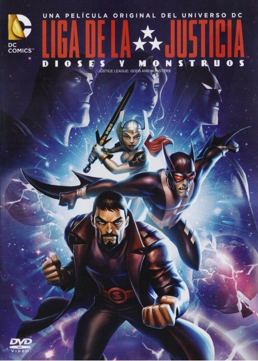 Liga de la Justicia: Dioses y monstruos | Doblaje Wiki | Fandom