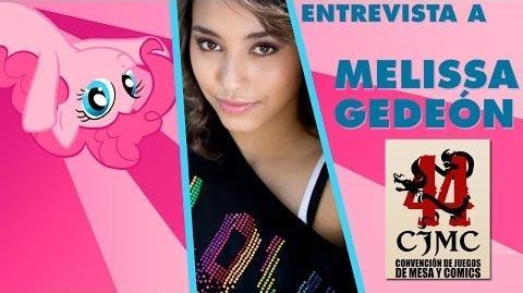 Entrevista a Melissa Gedeón (Pinkie Pie - My Little Pony) CJMC 44
