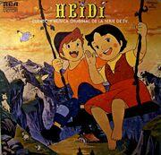 Heidi-Frontal -LP España-Méjico-