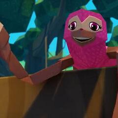 Susie, la perezoso también en <a href=