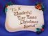 Carta de titulo (Navidad)
