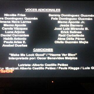 Créditos de TV. (2)