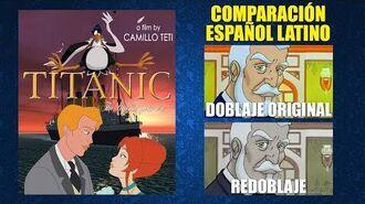 Titanic- La Leyenda Continúa -2000- Doblaje Original y Redoblaje - Español Latino - Comparación