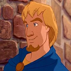 El Capitán Febo en las dos películas de <a href=