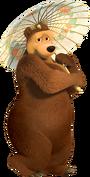 Osa Masha y el oso