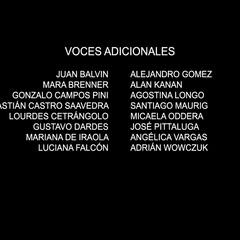 Voces adicionales episodio 5.