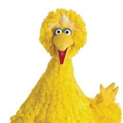 Big Bird (voz actual) también en <a href=