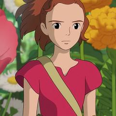 Arrietty en la versión de Zima de <a href=