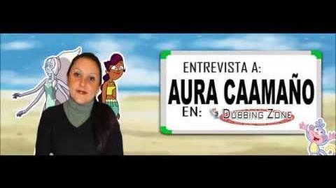 Entrevista a Aura Caamaño en Dubbing Zone