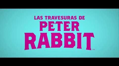 LAS TRAVESURAS DE PETER RABBIT TV SPOT-0
